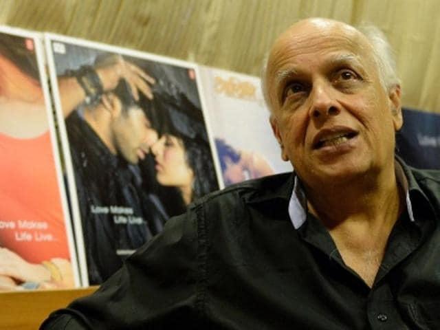Filmmaker Mahesh Bhatt.
