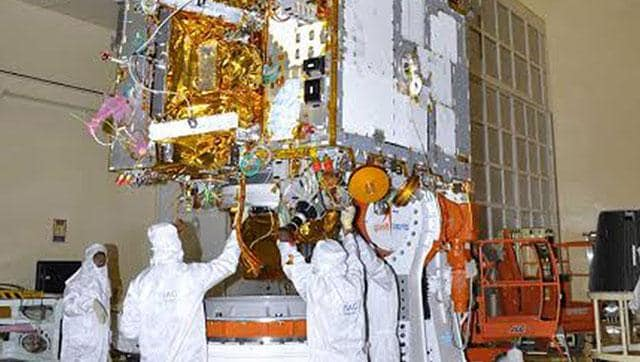 India will launch its first space observatory Astrosat in orbit on September 28, 2015. Picture of Astrosat being integrated.