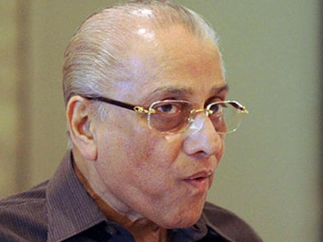 A file photo of Jagmohan Dalmiya after a press conference in New Delhi. Dalmiya passed away on September 20, 2015, at the age of 75.