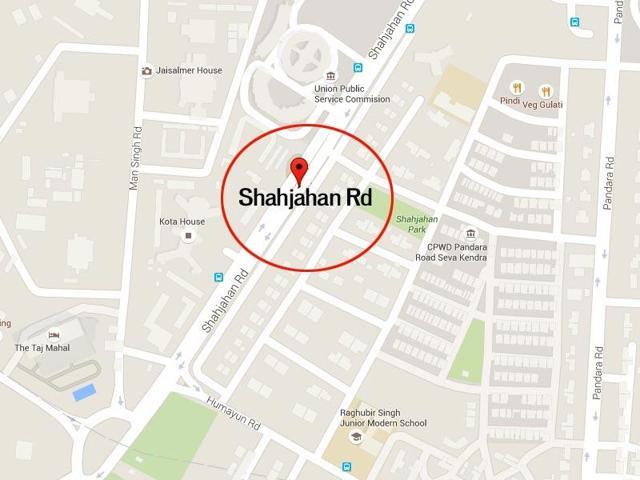 Delhi,Shahjahan Road,Dashrath manjhi Road