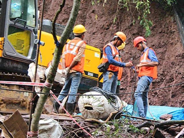 Bilaspur tunnel collapse