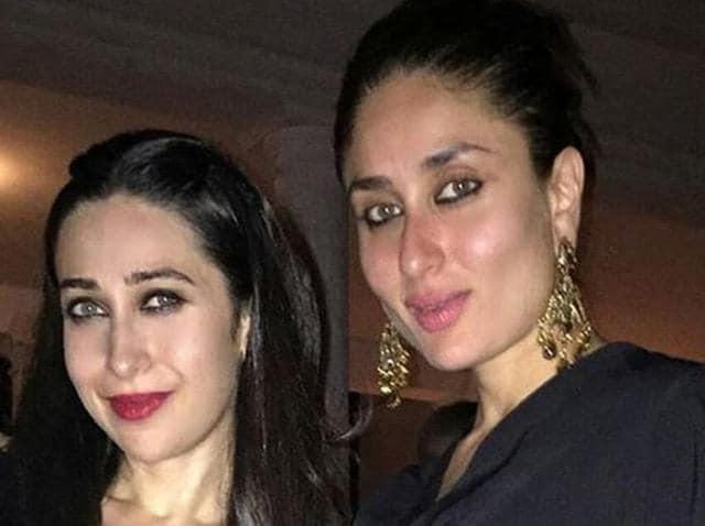 Kareena Kapoor celebrated with sister Karisma Kapoor as she turned 35 on Monday.