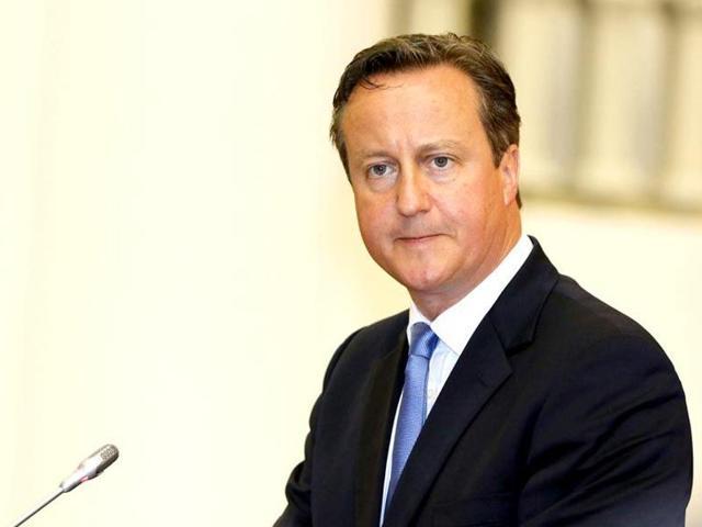 David Cameron,British PM,initiation ritual
