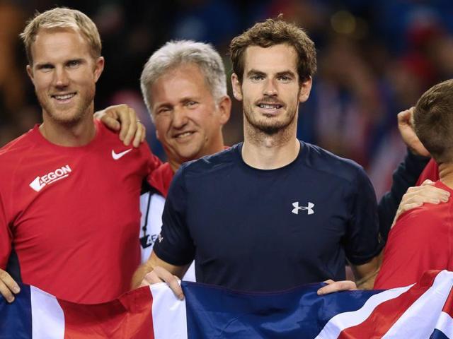 Great Britain in Davis Cup final,Andy Murray,Jamie Murray