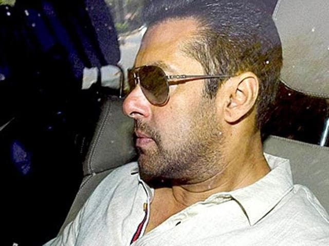 Salman Khan was sentenced to five years in jail in a 2002 hit-and-run case.