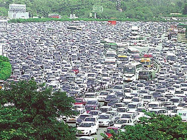 Gurgaon,Car-free day,Pollution