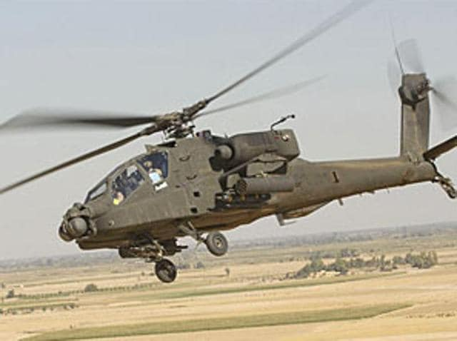 Cabinet Committee on Security,CCS,Apache attack helicopters