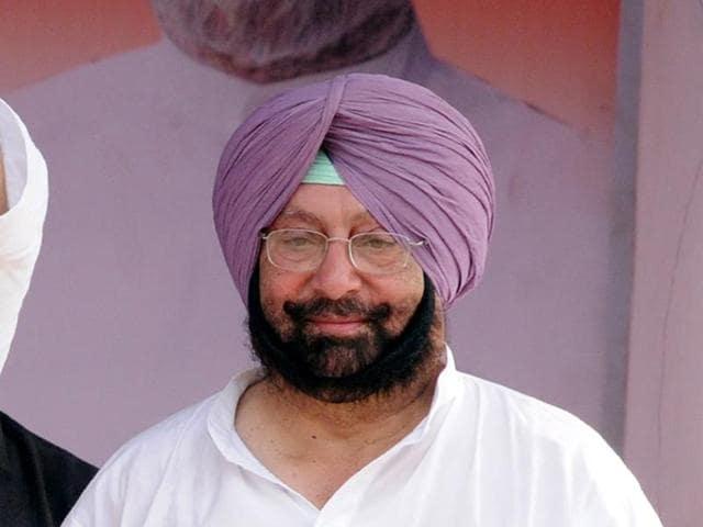 Former Punjab chief minister  Capt  Amarinder Singh.