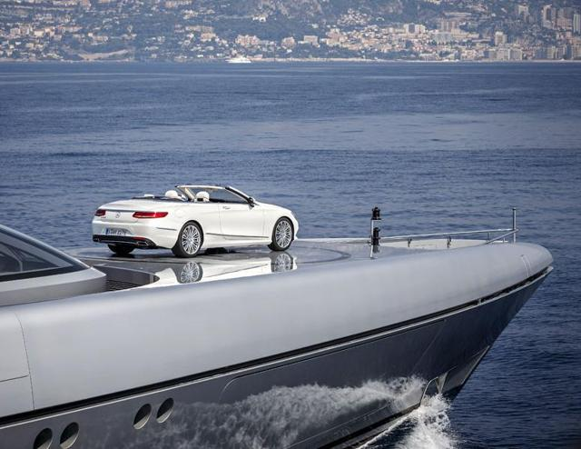 The Silver Fast at the Monaco Yacht Show, 2015