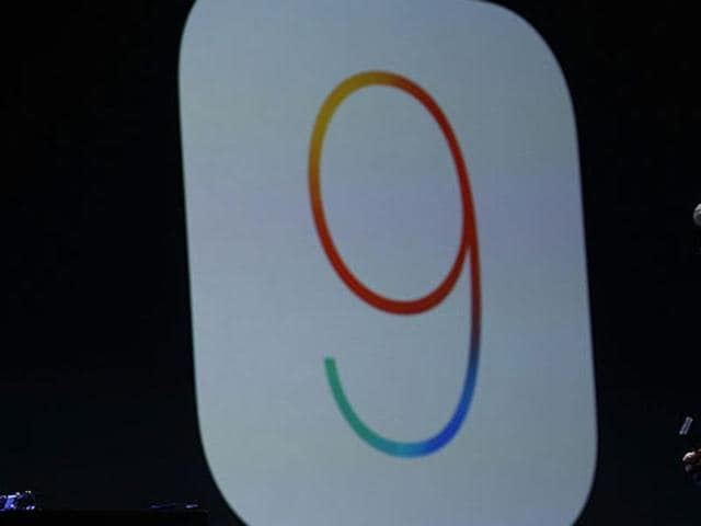 Craig Federighi, Apple senior vice president of Software Engineering, speaks about iOS 9 during Apple WWDC in San Francisco, California.