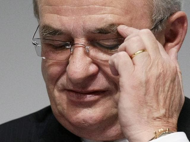 Volkswagen CEO,Martin Winterkorn,VW CEO resigns