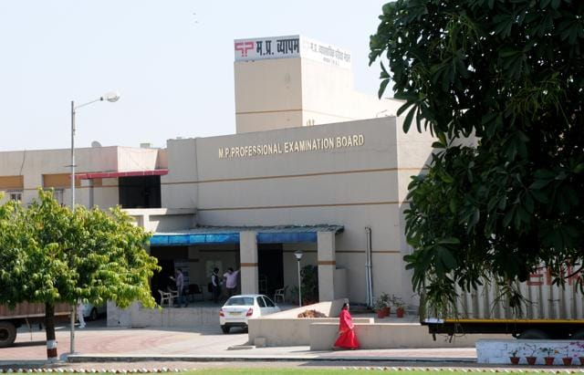 The office of Professional Examination Board, formerly known as Vyapam.