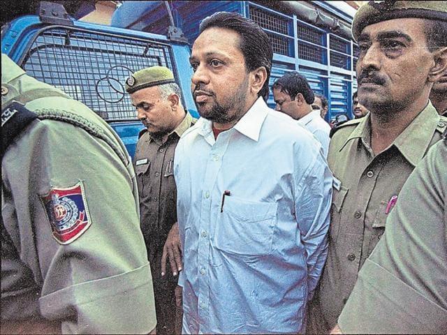 Delhi tandoor murder case convict Sushil Sharma at Tis Hazari court.