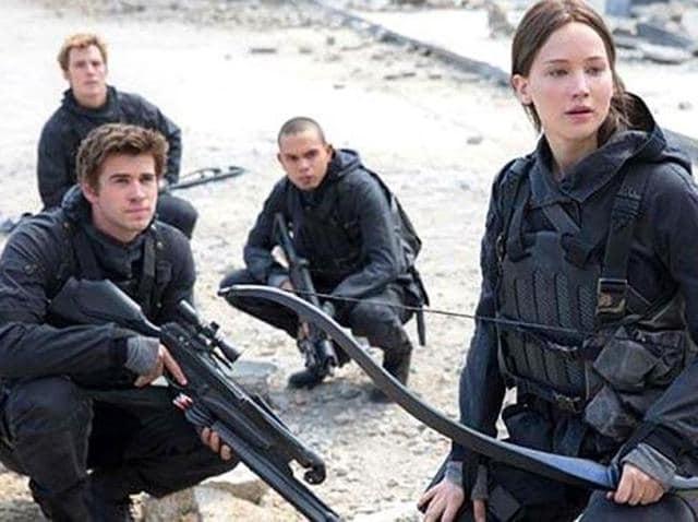The Hunger Games,The Hunger Games Mockingjay,Mockingjay Part 2