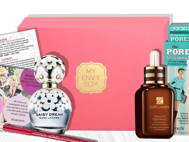 My Envy Box sends out luxury beauty products every month
