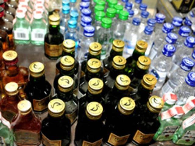 Illicit liquor,Sangrur,bottles of alchohol