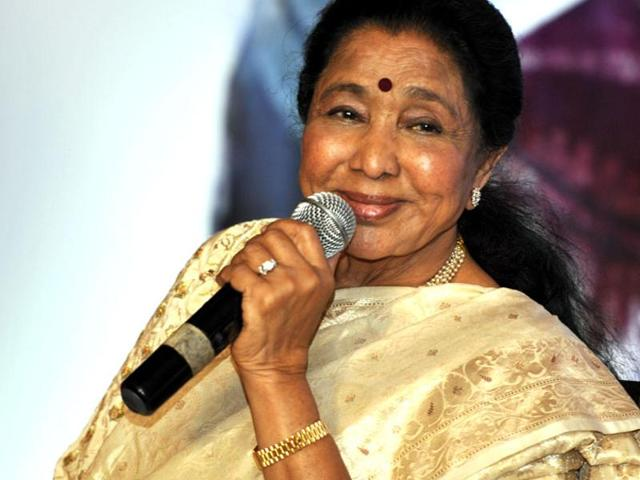 Padmavibhshan Asha Bhosle said that her show in Singapore on September 26, 2015 could be her last in the city. Seen here, the singer speaks at the launch of Taalima Kanku Veray Gujarati Garbas music album in Ahmedabad on August 20, 2015.
