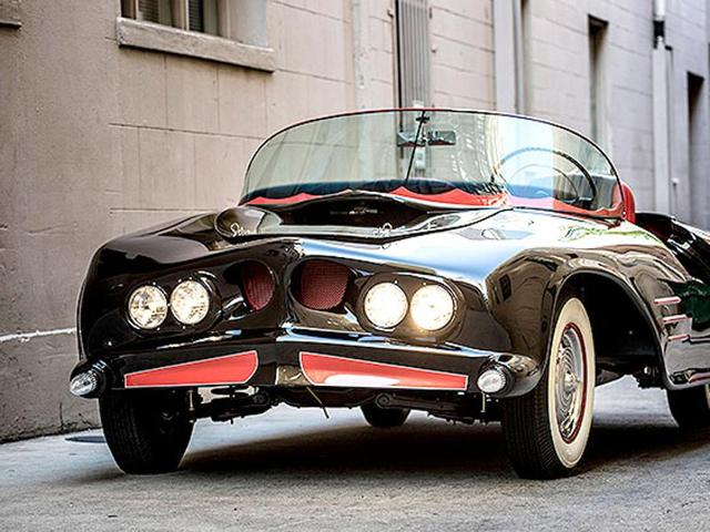 The 1963 Batmobile is shown in this photo released by Heritage Auctions, HA.com December 5, 2014.