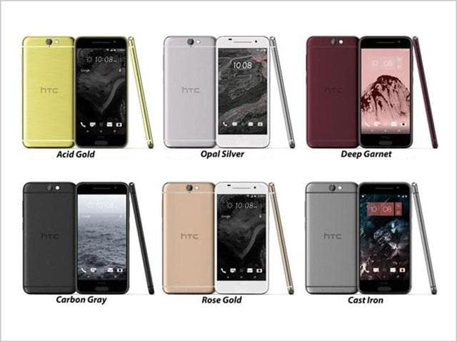 Leaked photos of the upcoming HTC One A9.