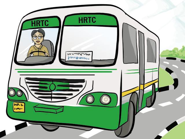 The transport department's move to recruit women drivers came after a local girl from Shimla appeared in a driving test conducted by the HRTC.