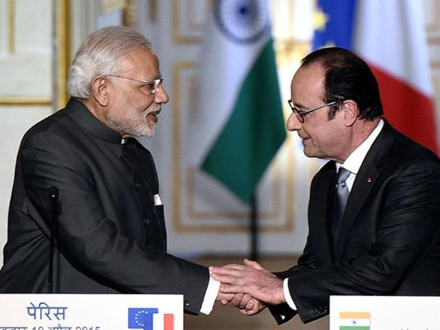Modi in US,Narendra Modi,French President François Hollande