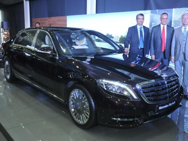 mercedes-maybach s600 launched at rs 2.6 crore in india | autos