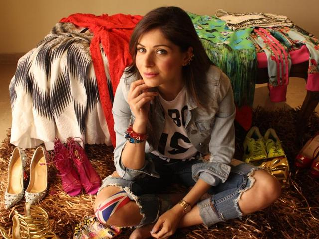 Kanika Kapoor loves to shop and is especially fond of shoes.