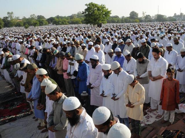 Eid-ul-Zuha celebrated in Bhopal,Eid prayers,Idgah