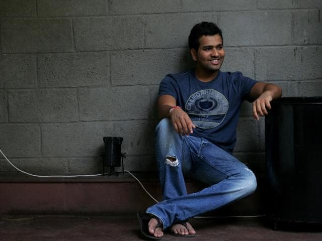 Cricketer Rohit Sharma likes a good waffle, and enjoys his coffee straight and black, thank you very much.K9