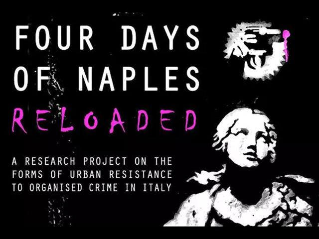 Screengrab of Mario Trifuoggi's website named Four Days of Naples Reloaded.