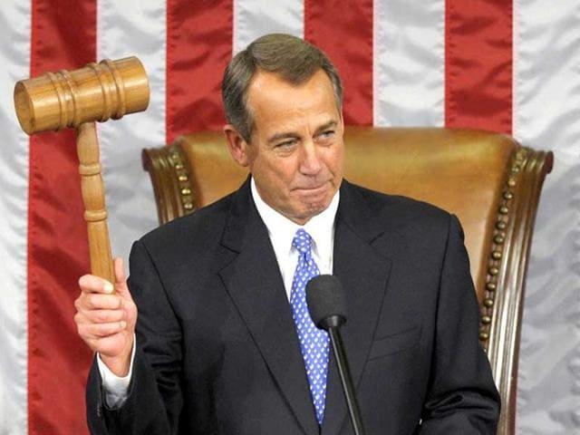 John Boehner,US House speaker,Congress