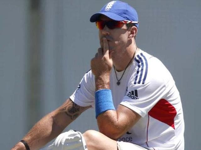 A file photo of former England cricketer Kevin Pietersen.