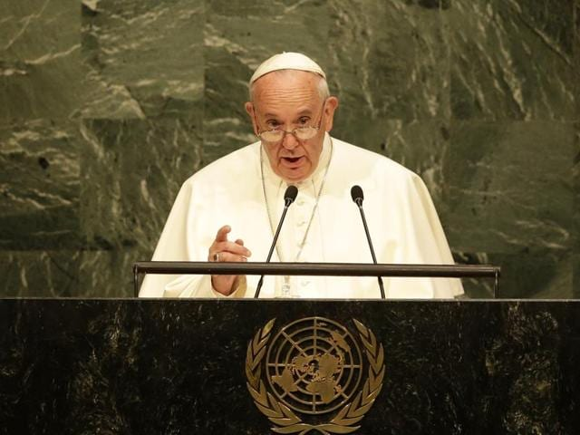 Pope Francis at UN,UNGA,Pope in US