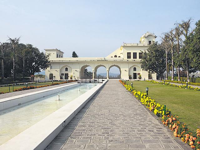 The Pinjore Gardens located in Panchkula is one of the major tourist attractions in Haryana.