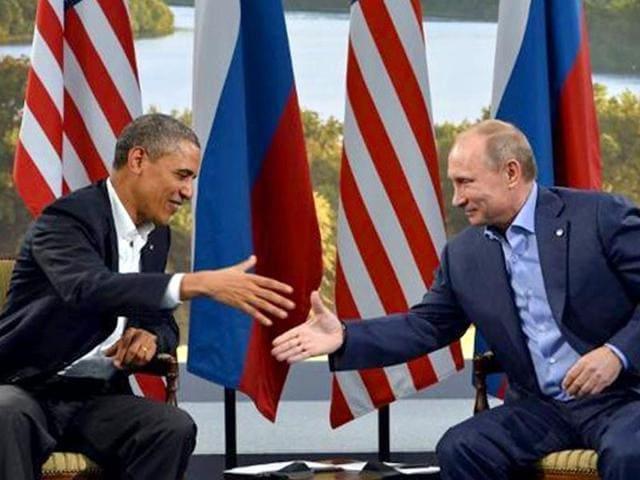 Vladimir Putin,Barack Obama,UN General Assembly