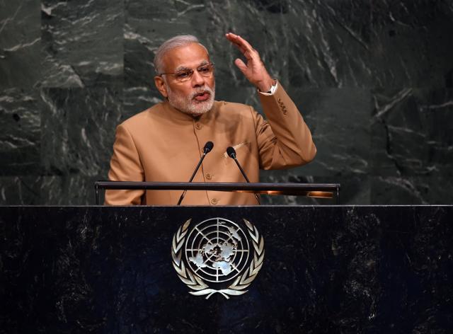 Narendra Modi,Modi UN speech,United Nations summit