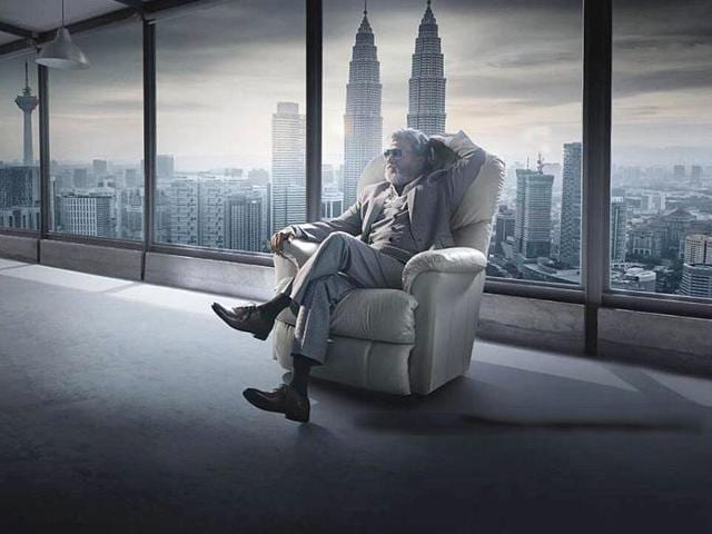 Kabali will see Rajinikanth play a gangster, a role reportedly based on the life of a Chennai don.(Twitter)