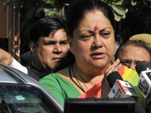Congress,Rajasthan,Vasundhra Raje