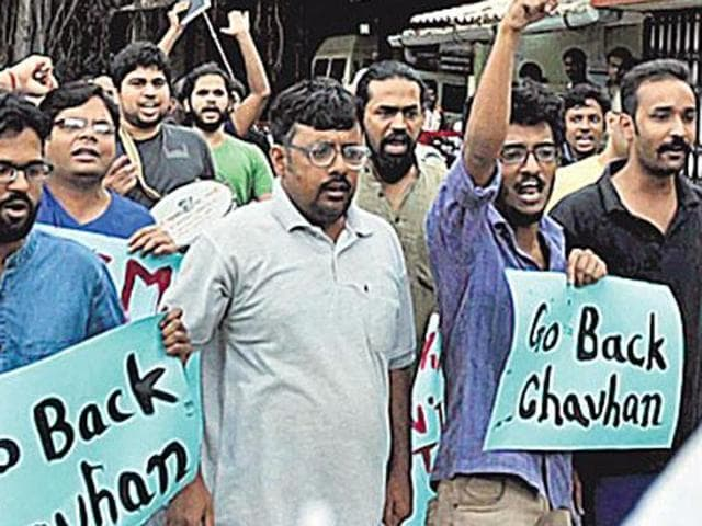 FTII students are demanding the cancellation of the appointment of Gajendra Chauhan as chairman a post occupied in the past by luminaries such as director Shyam Benegal.