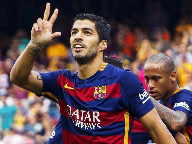 La Liga,Barcelona vs Las Palmas,Luis Suarez