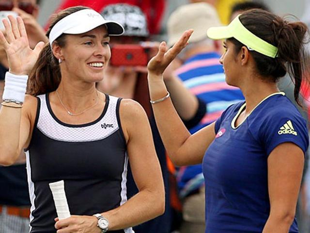 Guangzhou Open,Sania Mirza,Martina Hingis