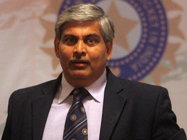 A file photo of Shashank Manohar.