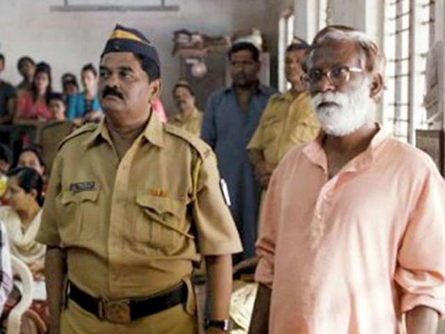 Gitanjali Kulkarni and Vivek Gomber play lawyers in Chaitanya Tamhane's Court