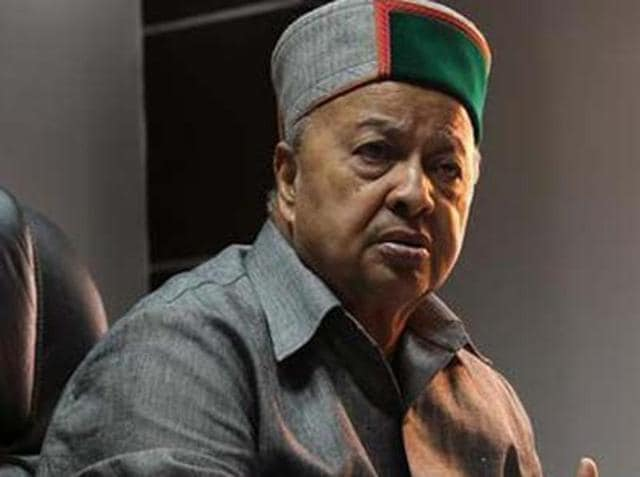File photo of Himachal Pradesh's chief minister Virbhadra Singh.