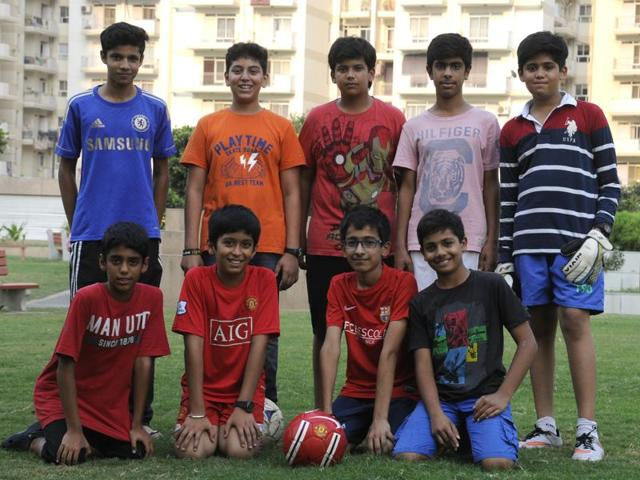 Gurgaon's Park View City 2 Dinamoes football team are all set to participate in the 2015 HTGIFA tournament.
