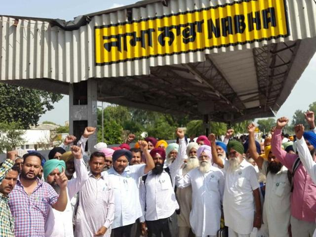 """This government is supporting the corporate sector at the expense of the farmers,"" said Nek Chand Khokh, a Bhartiya Kisan Union (BKU) leader."