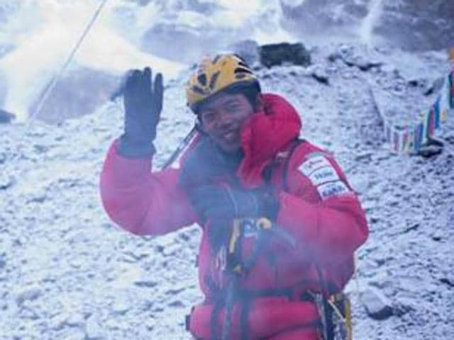 Nobukazu Kuriki lost nine of his fingers during his earlier attempts to climb to the highest summit in the world.