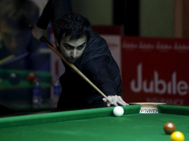 Pankaj Advani,Cueist,IBSF World Billiards Championship