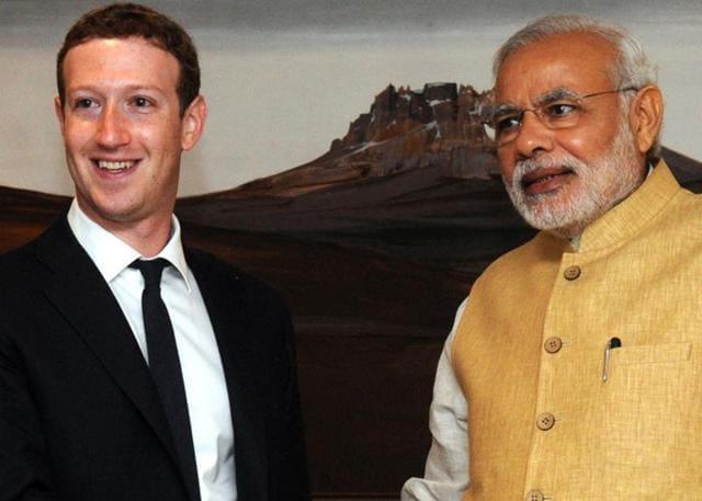 Mark Zuckerberg,Facebook,PM Modi