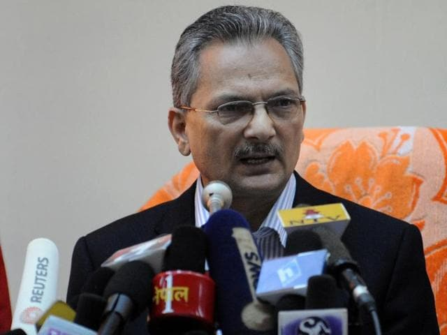 Nepal's former Maoist premier Baburam Bhattarai resigned from his party and parliament, days after announcing his support for protesters fighting to bring changes to a fledgling Constitution.
